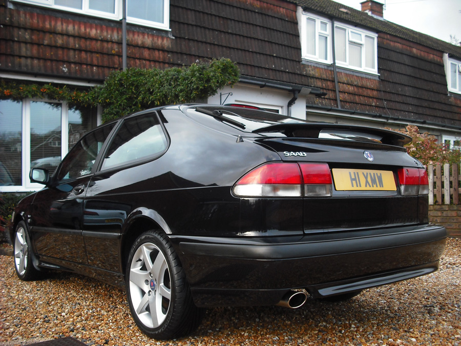 2001 9-3 Aero 'Coupe' Black